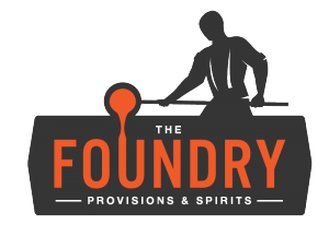 Foundry_Logo_Foundry Logo Prov and Spirits_Dark_Gray_Amber